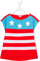 Little Marc Jacobs stars and stripes T-shirt - kids - Cotton/Modal - 14 yrs