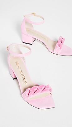 50mm Amelina Block Chain Sandals