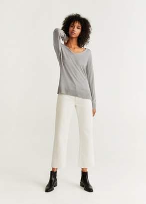 MANGO V-neckline sweater