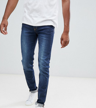 Loyalty And Faith TALL Beattie skinny fit jean in dark wash-Blue
