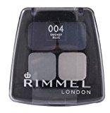 Rimmel London Colour Rush Quad Eye Shadow 004 Smokey Blue by
