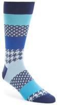 Bugatchi Men's Houndstooth Socks