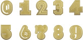 Tom Dixon Numbers Paper Clips - Set of 10