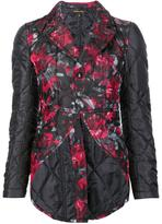 Comme des Garcons floral quilted jacket - women - Silk/Polyester - S