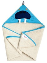 3 Sprouts Newborn/Infant Hooded Towel - Walrus