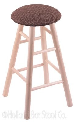 "Holland Bar Stool 30"" Swivel Bar Stool Finish: Natural Maple, Upholstery: Axis Willow"