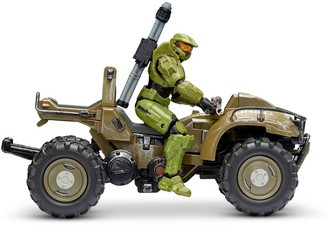 """Halo 4"""" """"World of Figure & Vehicle - Mongoose with Master Chief"""