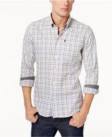 Barbour Men's Flannel Grid-Pattern Shirt