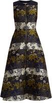 Roksanda Serra floral-jacquard sleeveless dress