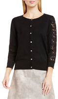 Vince Camuto Long Sleeve Cotton Blend Cardigan