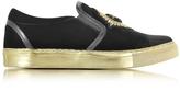 Balmain Queen Black Velvet Sneaker