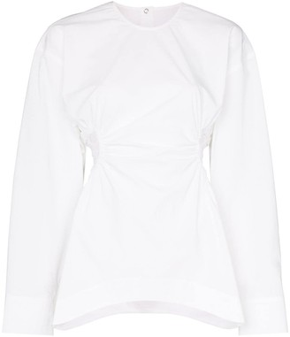Markoo Cut-Out Detail Blouse