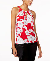 INC International Concepts Printed Keyhole Top, Created for Macy's