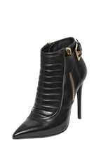 Gianmarco Lorenzi 115mm Padded Calf Leather Ankle Boots