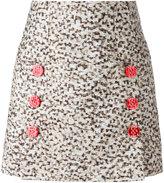 Dolce & Gabbana printed mini skirt - women - Polyester/Silk/Polyamide/Spandex/Elastane - 42