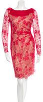 Valentino Lace Silk Dress