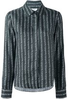 Carven chain print shirt - women - Silk - 34
