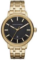 Armani Exchange Maddox Gold Watch