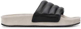Spalwart Puff strap sandals
