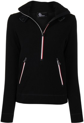 MONCLER GRENOBLE Zip-Up Long-Sleeved Jacket