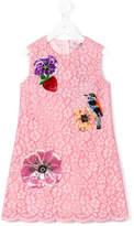 Dolce & Gabbana floral motifs dress