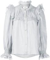 Etoile Isabel Marant Atedy ruffle trim blouse