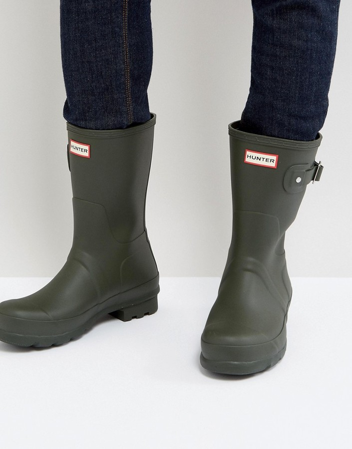 Hunter Short Wellington Boots