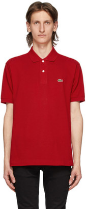 Lacoste Red L.12.12 Polo
