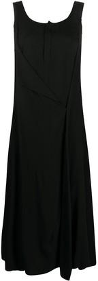 Yohji Yamamoto Distressed Maxi Dress