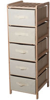 JCPenney LAVISH HOME Lavish HomeTM 5-Drawer Storage Unit with Shelf