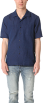 Levi's Indigo Short Sleeve Shirt