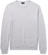 J.Crew Mélange Cashmere Sweater - Light gray