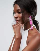 Asos Colour Drench Gem Earrings