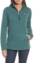 Vineyard Vines Women's Relaxed Holiday Heather Shep Top