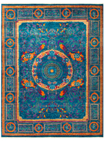 Solo Rugs Eclectic Vivid Hand-Knotted Wool Rug