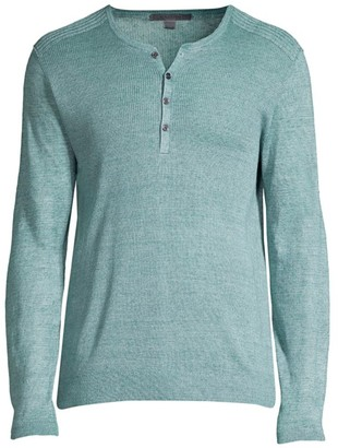 John Varvatos Slim-Fit Henley Shirt