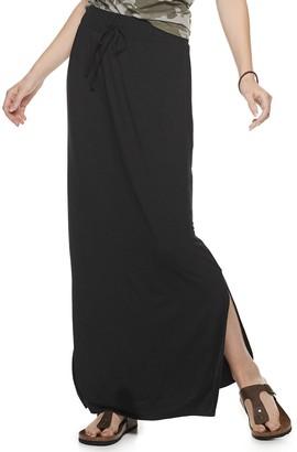 Women's SONOMA Goods for Life Side Slit Maxi Skirt