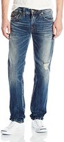 True Religion Men's Geno Relaxed Slim Fit Jean In