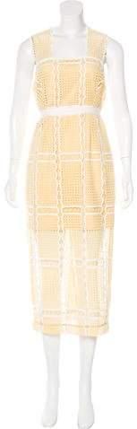 Alice McCall Lace Sheath Dress
