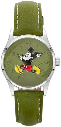 Disney Original Running Mickey 34mm Olive