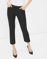 White House Black Market Curvy Perfect Form Straight Crop Pants