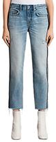 AllSaints Boys Stripe Jeans, Light Indigo/Blue