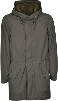 Aspesi Side Flap Pocket Hooded Jacket
