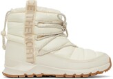 Thumbnail for your product : The North Face Off-White Thermoball Lace-Up Ankle Boots