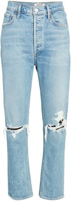 AGOLDE 90s Fitted Straight-Leg Jeans