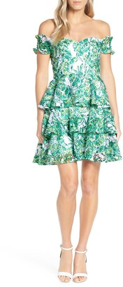 Lilly Pulitzer Cicely Off the Shoulder Dress