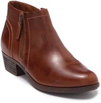 Dr. Scholl's Rockport Oliana Panel Leather Ankle Bootie