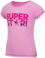 adidas Graphic Tee - Preschool Girls 4-6x
