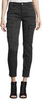 J Brand Jeans Houlihan Skinny Cargo Ankle Pants, Dark Gray