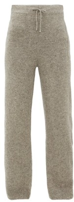 Phipps - Yak-wool Track Pants - Womens - Grey